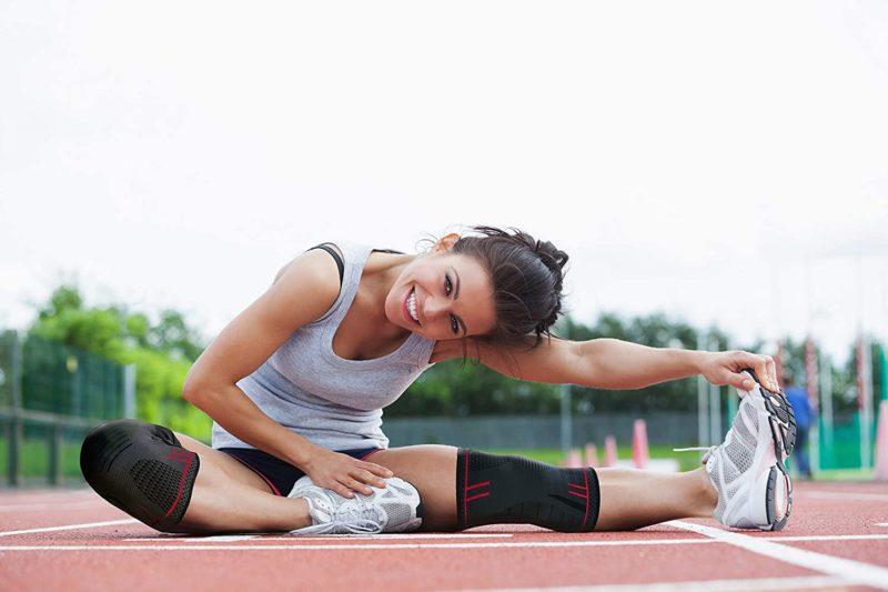 Kniebandage für Fitness und Sport