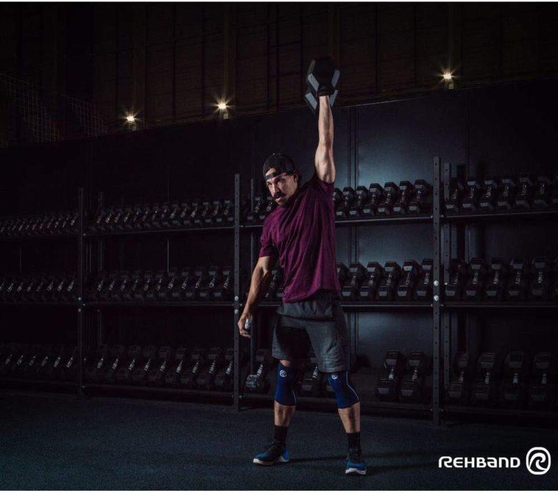 Kniebandage Gewichtheben